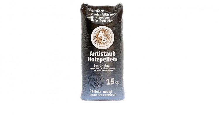 Antistaub-Holzpellets
