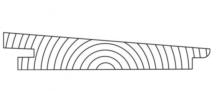 DURApatina Trapezprofil Selekt, 22 x 142 mm, Kristallgrau