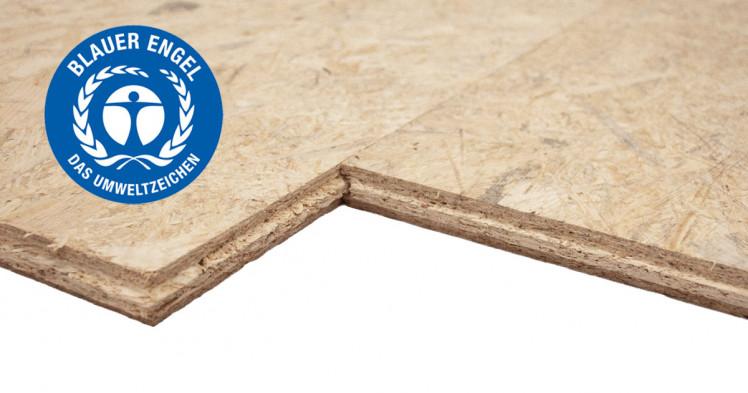 Swiss Krono OSB-Platten, geschliffen, mit Nut-Feder