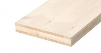 3-Schichtplatten Weisstanne, A/C, 19mm