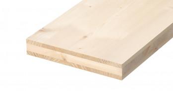 3-Schichtplatten Fichte, B/C
