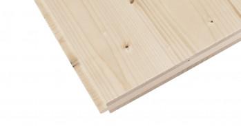 3-Schichtplatten Fichte, B/C, 2-NF