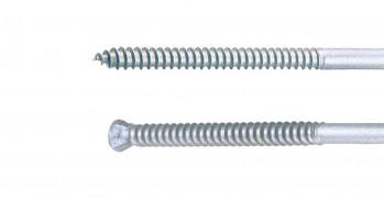 Schrauben für Dämmung TWIN UD, 7mm, 100 St./VE