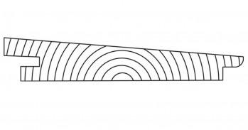 DURApatina Trapezprofil Selekt, 22 x 142 mm, Lavagrau