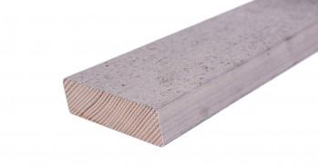 Rhombusleisten Weißtanne  21 x 69 mm, vorvergraut