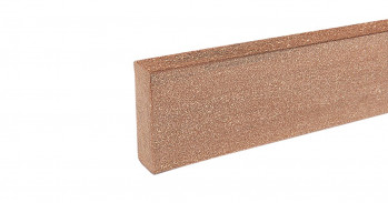 silvadec WPC Abschlußprofil, 20x70 mm, glatt, Äquator Braun