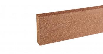 silvadec WPC Abschlußprofil, 20x70 mm, glatt, Exotic Braun