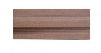 silvadec WPC Elegance, glatt/gerillt, 23x138, Exotic Braun