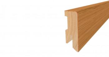 Tilo Fußbodenleiste FSLC516 Lärche Brillantweiß