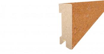 Tilo Fußbodenleiste KSLC516 Basic Cremeweiß