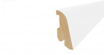 Tilo Fußbodenleiste SL410 Weiß RAL9010