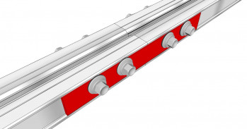 Längsverbinder - Twinbox UK, 19x140x2,5 mm, 10 St.