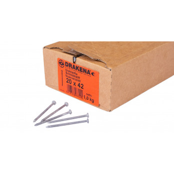 Schindelstifte 2,0x42mm, feuerverzinkt, 1000 Stück