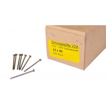 Schindelstifte 2,3x50mm, V2A Edelstahl, 1000 Stück